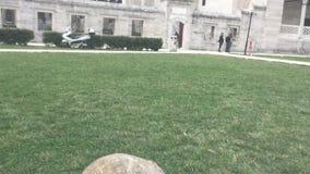 Monumento sepolcrale islamico di marmo stock footage