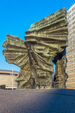 Monumento silesio de los insurrectos Imagen de archivo libre de regalías