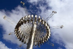 Monumento solar da torre Foto de Stock Royalty Free