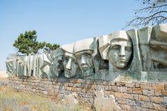 Monumento soviético de la guerra Imágenes de archivo libres de regalías