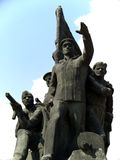 Monumento soviético de la guerra de la era Fotos de archivo