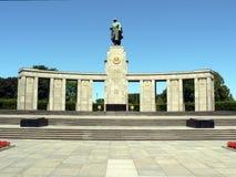 Monumento soviético de la guerra en Berlín Imagen de archivo libre de regalías
