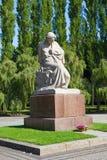 Monumento soviético de la guerra (parque de Treptower) Imagen de archivo