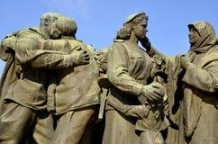 Monumento soviético del ejército Foto de archivo libre de regalías