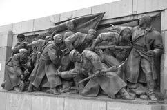 Monumento soviético del ejército Fotografía de archivo libre de regalías