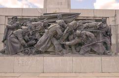 Monumento soviético del ejército Foto de archivo