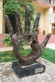 Monumento a Steve Jobs en Odessa. Gracias, Steve. Fotos de archivo