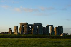 Monumento Stonehenge em Inglaterra foto de stock