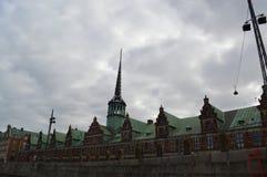 Monumento storico a Copenhaghen Fotografia Stock Libera da Diritti