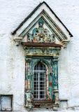 Monumento storico e elementi del ` s, Zelenograd, Russia Architettura religiosa della Russia fotografia stock libera da diritti