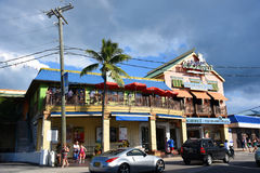Monumento storico in George Town, Isole Cayman Fotografia Stock