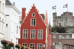 Monumento storico piacevole a Gand Belgio 2 Fotografie Stock Libere da Diritti