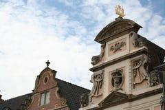 Monumento storico piacevole a Gand Belgio Fotografie Stock