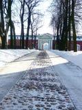 Monumento storico in San Pietroburgo fotografie stock libere da diritti