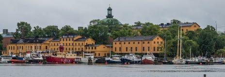 Monumento storico a Stoccolma fotografia stock libera da diritti
