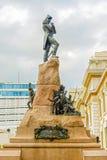 Monumento a Sucre hemorroidal en Guayaquil, Ecuador Imagen de archivo