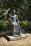 Monumento a Sun Yat-sen nel parco dell'università Hon Kong La Cina Immagini Stock Libere da Diritti