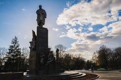 Monumento T g Shevchenko Imagen de archivo