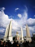Monumento tailandese di democrazia Fotografia Stock Libera da Diritti