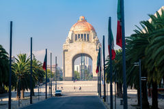 The Monumento to the Revolution in Mexico City Royalty Free Stock Image