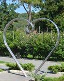 Monumento a todos os amantes na vila de Abrau-Durso (Krasnodar, Rússia) Foto de Stock Royalty Free