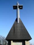Monumento transversal Imagem de Stock Royalty Free