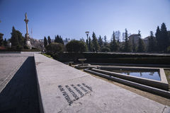 Monumento a Triumph de la Virgen en los jardines del triunfo, Imágenes de archivo libres de regalías