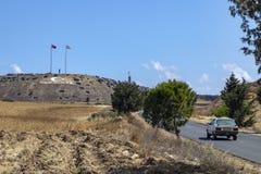 Monumento turco - turco Chipre Imagem de Stock