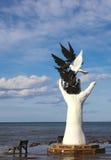 Monumento turco di pace fotografia stock