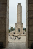 Monumento um bandera do la Foto de Stock