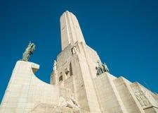 Monumento un bandera del la Fotografía de archivo