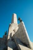 Monumento un bandera del la Foto de archivo libre de regalías