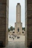 Monumento un bandera della La Fotografia Stock
