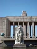 Monumento un la Bandera - cuadrado de Lola Mora imagen de archivo libre de regalías
