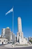 Monumento un la Bandera en Rosario, la Argentina Imagenes de archivo