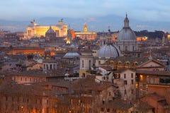 Della Patria, Roma de Altare Foto de archivo libre de regalías