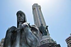 Monumento une visibilité directe Caidos dans Tenerife, Espagne Photographie stock libre de droits
