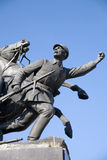 Monumento a V.Chapaev Imagens de Stock Royalty Free