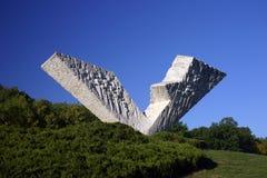 Monumento V3 en Kragujevac Fotos de archivo libres de regalías