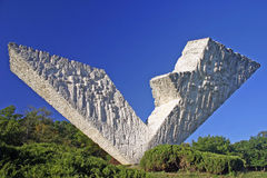 Monumento V3 en Kragujevac Foto de archivo libre de regalías