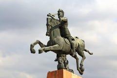 Monumento a Vardan Mamikonian em Yerevan Imagem de Stock Royalty Free