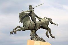Monumento a Vardan Mamikonian em Yerevan Fotos de Stock