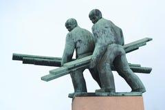 Monumento velho em Kotka imagem de stock royalty free