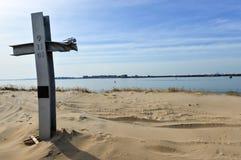 Monumento ventoso del punto 9/11 Foto de archivo