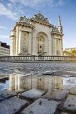 Monumento viejo de Porte de París de la ciudad de Lille Fotografía de archivo