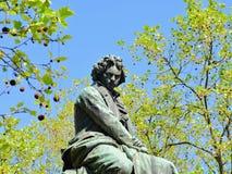 Monumento Viena de Beethoven Imagens de Stock Royalty Free