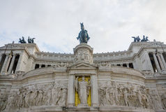 monumento vittorio emanuele Obrazy Stock