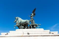 monumento vittorio emanuele Fotografia Royalty Free