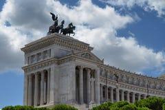 Monumento a Vittorio Emanuele II Fotografia Stock Libera da Diritti