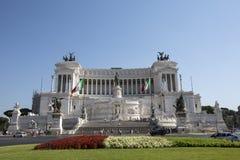 Monumento a Vittorio Emanuele II in Piazza Venizia, Rome, Italy. Stock Photography